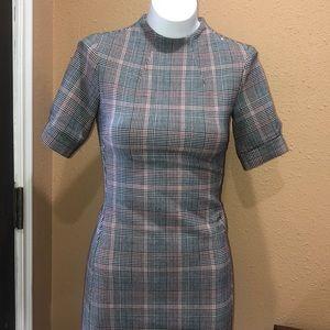 NWT H&M plaid dress